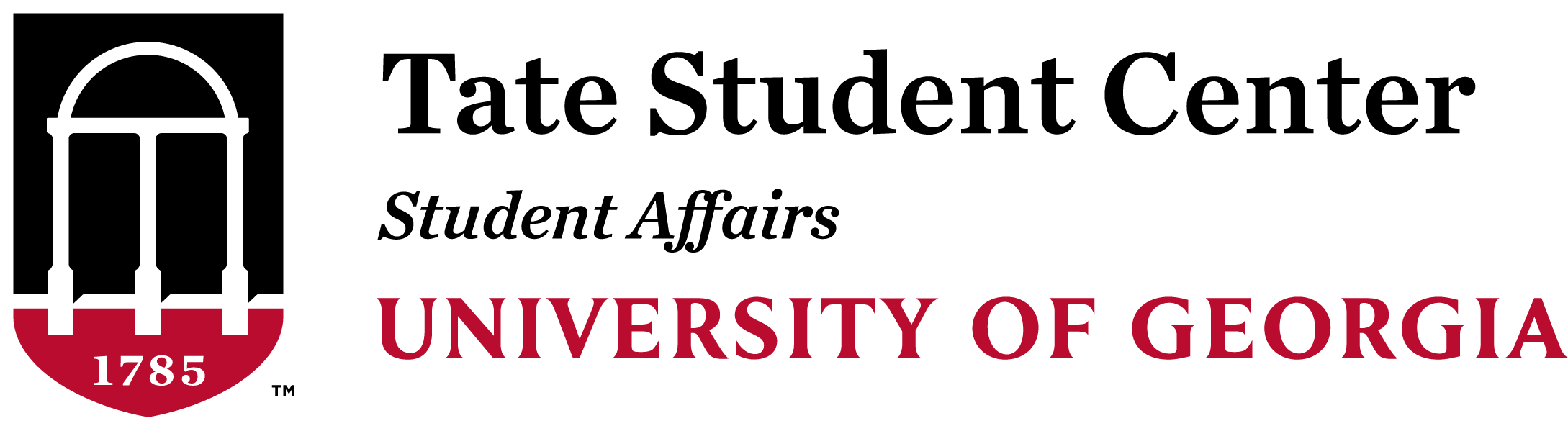 Tate Student Center Logo